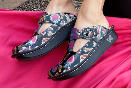 Обувь из Калифорнии – сабо ALEGRIA — фото 1
