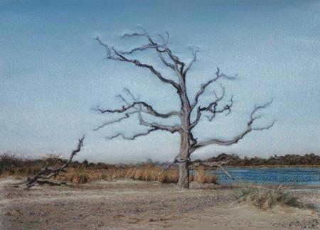 Вышитые пейзажи Джилл Дрэпер (Jill Draper) — фото 19