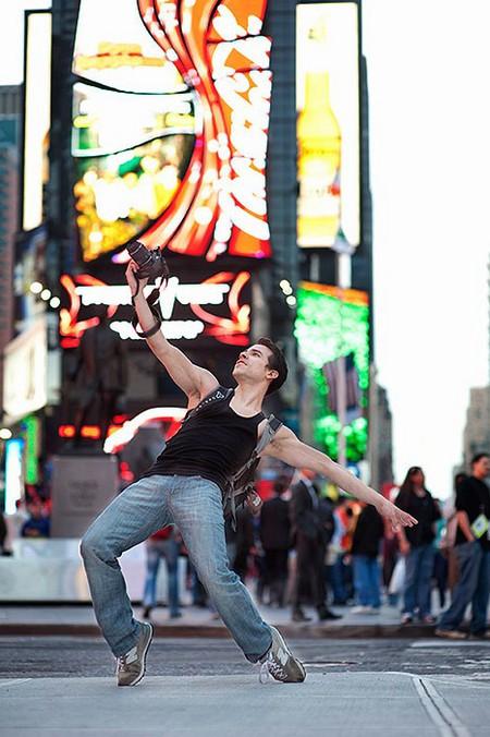 Арт-проект «Танцоры среди нас» Джордана Мэттера (Jordan Matter) — фото 45