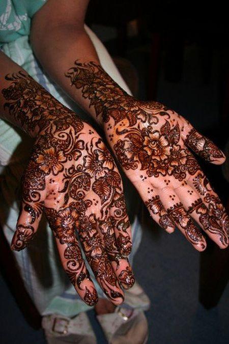 Менди – украшение не только для индийских принцесс — фото 62