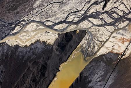 Отходы угольной электростанции, США, 2009 год.