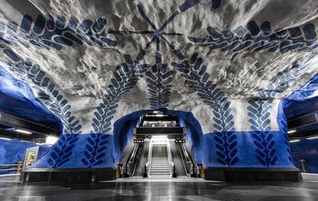 Метро, ради которого стоит приехать в Стокгольм! — фото 35