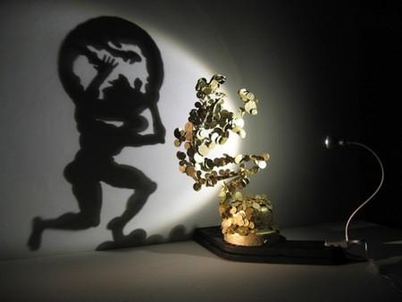 Танцы с тенью – скульптуры Diet Wiegman — фото 7