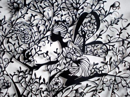 Кружева из бумаги – ювелирные работы Хины Аоямы — фото 8