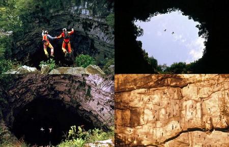 Экстрим и ласточки: пещера Sótano de las Golondrinas в Мексике — фото 14