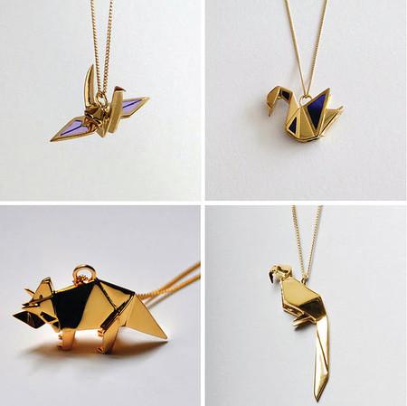 Драгоценные фигурки-оригами от Claire & Arnaud — фото 2