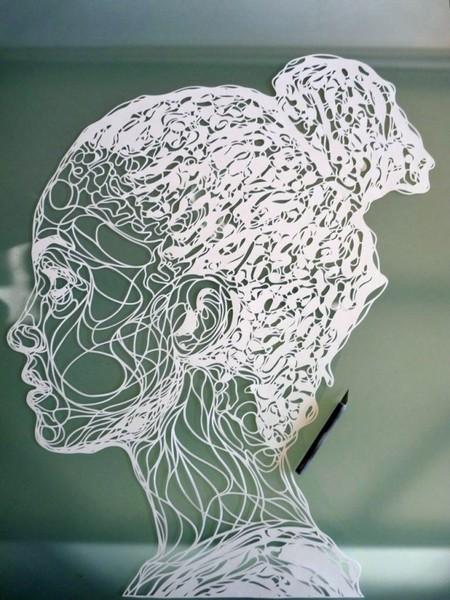 Крис Траппениерс (Kris Trappeniers) – бумажный скульптор — фото 4