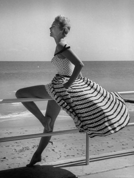 Снимок из середины прошлого века. Вот почему ретро до сих пор в моде ...