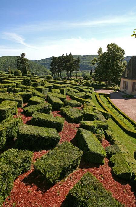 Живописные скульптурные сады замка Маркессак — фото 9