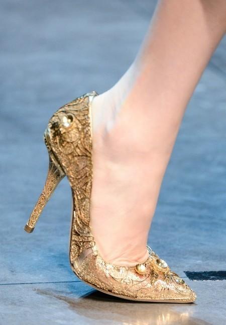 Dolce & Gabbana осень-зима 2013-2014 – когда всего слишком много — фото 103