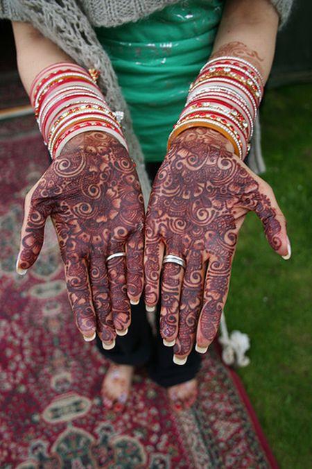 Менди – украшение не только для индийских принцесс — фото 32