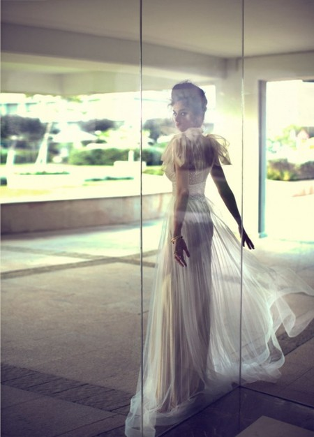 Свадебная коллекция Zahavit Tshuba – если хочется нежное и необычное платье — фото 22
