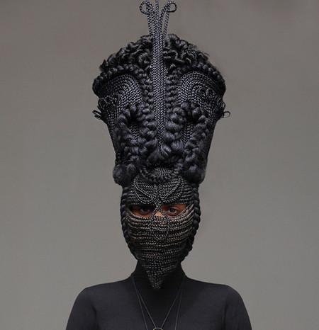 Прически или скульптуры? Идеи Joanne Petit-Frere — фото 12