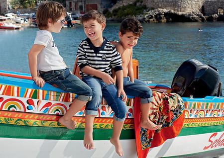 Самым любимым – детская коллекция Dolce&Gabbana весна-лето 2013 — фото 4