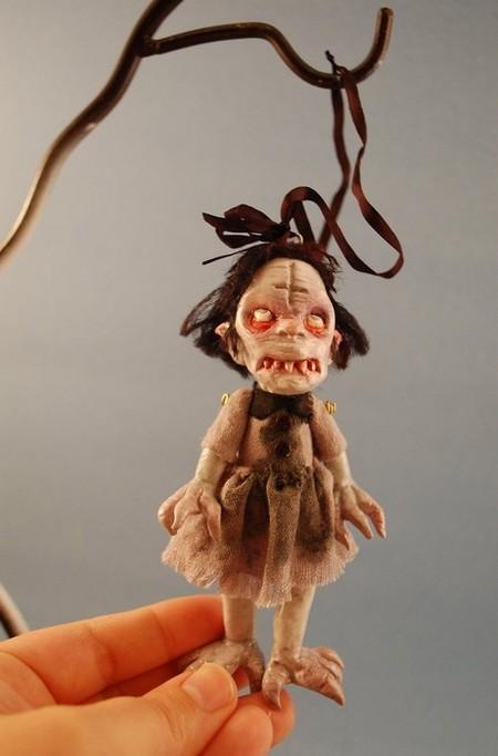 Зомби, монстры, вампиры и прочие куклы Камиллы Млынарчик — фото 25