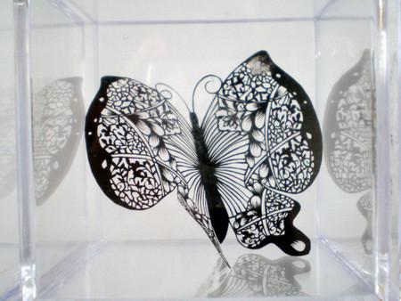 Кружева из бумаги – ювелирные работы Хины Аоямы — фото 33
