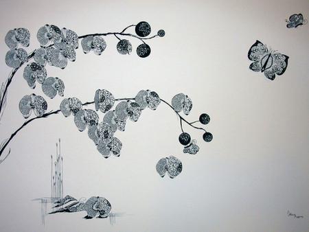 Кружева из бумаги – ювелирные работы Хины Аоямы — фото 23