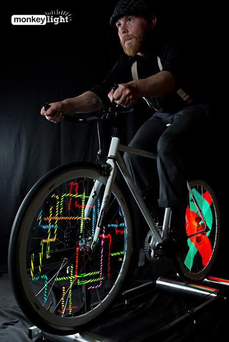 Велосипед с самой крутой подсветкой - Monkey Light Pro — фото 9