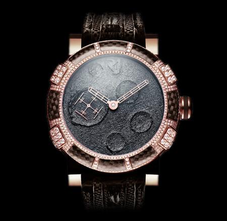 История на запястье – часы от Romain Jerome с ДНК вулкана, Титаника и Луны — фото 14