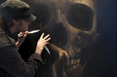 Ножом по коже – рисунки Марка Эванса — фото 7