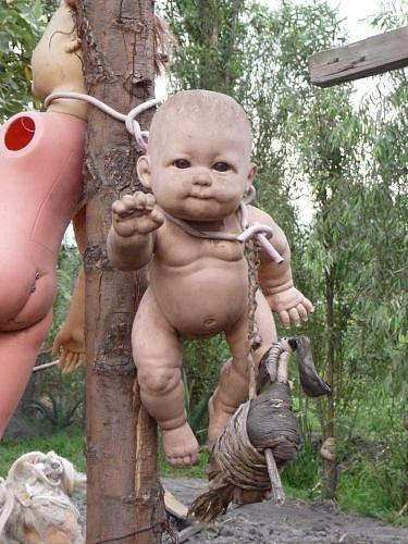 Остров кукол в Мексике – место не для детей — фото 19