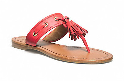 Коллекция обуви от Coach весна-лето 2013 – каблуки, платформа, мокасины, сандалии! — фото 36
