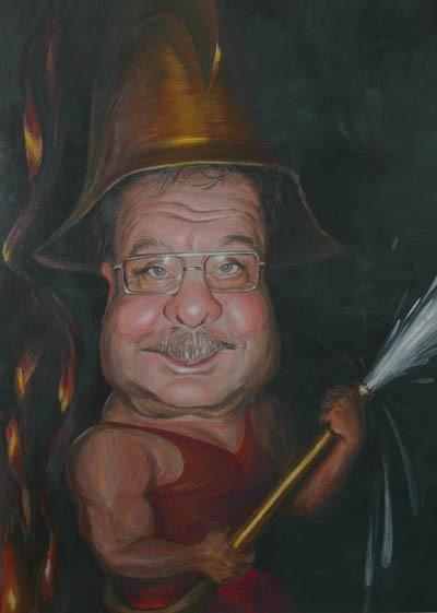 Денис Лопатин – «опасный» художник — фото 14