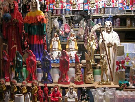 Большой рынок товаров для колдовства в Мексике — фото 6