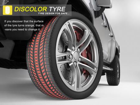 Discolor Tyre – шины, которые придется менять вовремя — фото 1