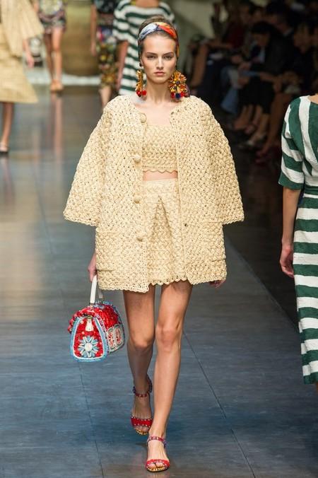 Сицилия от Dolce & Gabbana - женская коллекция весна-лето 2013 — фото 87