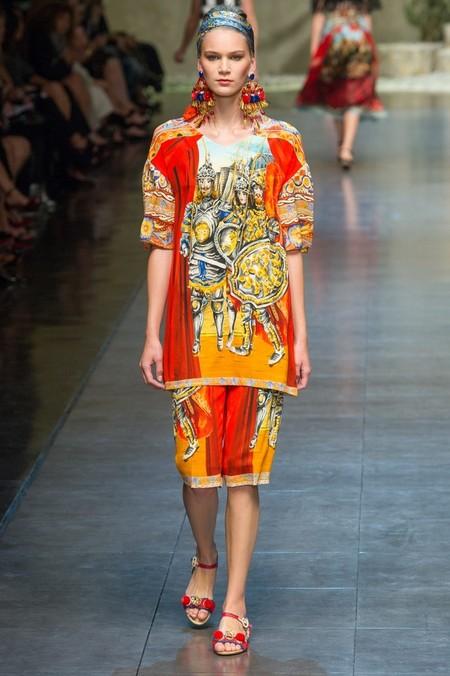 Сицилия от Dolce & Gabbana - женская коллекция весна-лето 2013 — фото 50