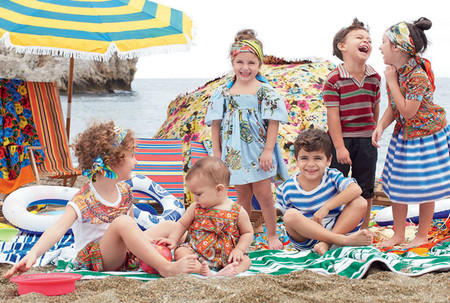 Самым любимым – детская коллекция Dolce&Gabbana весна-лето 2013 — фото 28