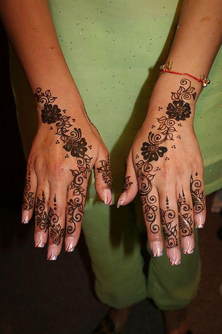 Менди – украшение не только для индийских принцесс — фото 50