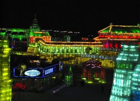 Фестиваль Ледяных дворцов в китайском Харбине – зимняя сказка — фото 20