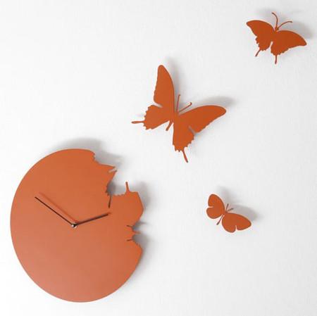 Что общего у времени и бабочек? Разгадка – в часах Butterfly clock — фото 3