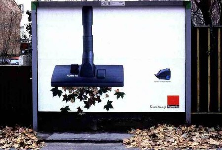 Наружная реклама Rowenta – хороший маркетинговый ход