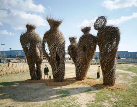 Патрик Догерти – скульптор, который вьет гнезда — фото 8