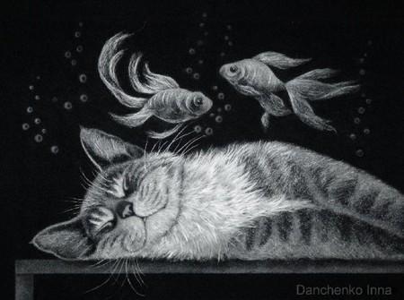 Пушистые картины Инны Данченко — фото 3