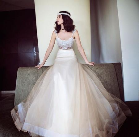 Свадебная коллекция Zahavit Tshuba – если хочется нежное и необычное платье — фото 3