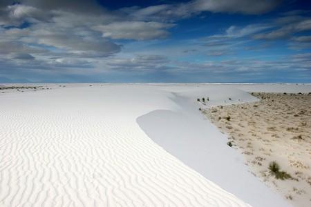 Белая жара в пустыне White Sands National Monument — фото 12