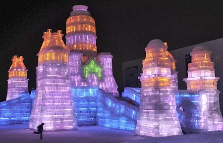 Фестиваль Ледяных дворцов в китайском Харбине – зимняя сказка — фото 16