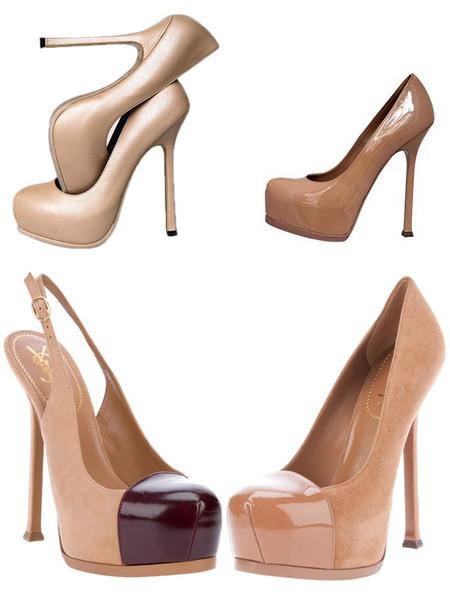 Туфли цвета «нюд» - новая классика! С чем носить, как комбинировать — фото 87