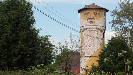 "The tower man — ""Человек-Башня"", Пермь"