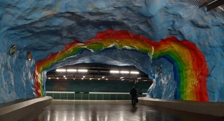 Метро, ради которого стоит приехать в Стокгольм! — фото 9