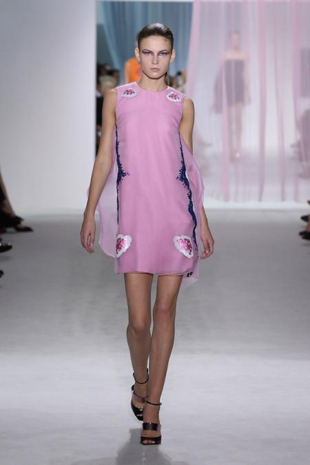 Женская коллекция Dior весна-лето 2013 — фото 29