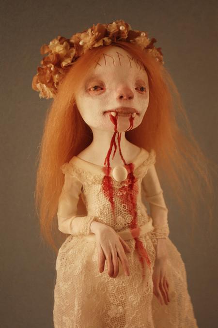 Зомби, монстры, вампиры и прочие куклы Камиллы Млынарчик — фото 7
