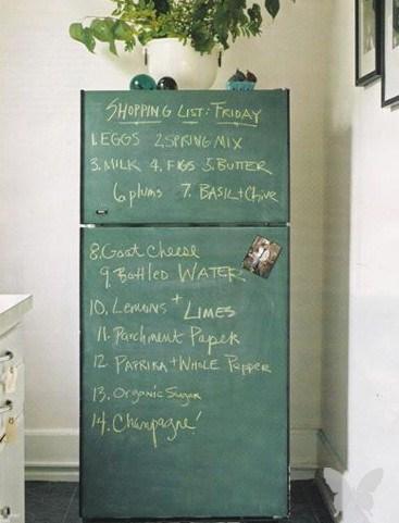 Начнем с кухни. Почему бы не поиздеваться над холодильником?))