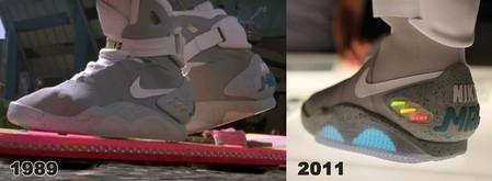 Кроссовки из будущего - 2011 NIKE MAG — фото 11
