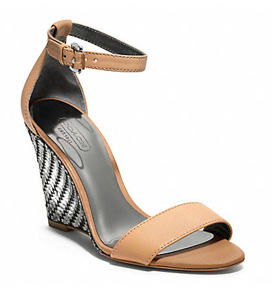 Коллекция обуви от Coach весна-лето 2013 – каблуки, платформа, мокасины, сандалии! — фото 6