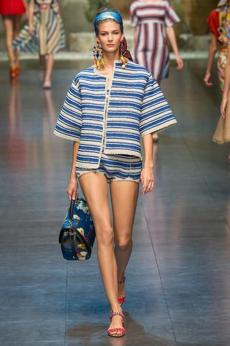 Сицилия от Dolce & Gabbana - женская коллекция весна-лето 2013 — фото 29